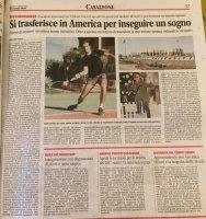 Eddy: studio e gioco a tennis in America, con una borsa di studio!