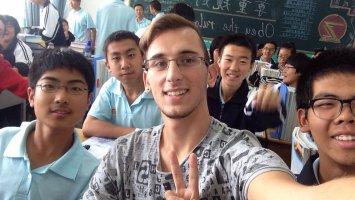 Un saluto dalla Cina!