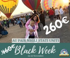 Au Pair USA Black Week 2018
