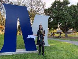 Lucia: che soddisfazione la mia laurea all'università americana!