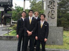 Un fantastico Anno Scolastico in Giappone per Michele Carleschi