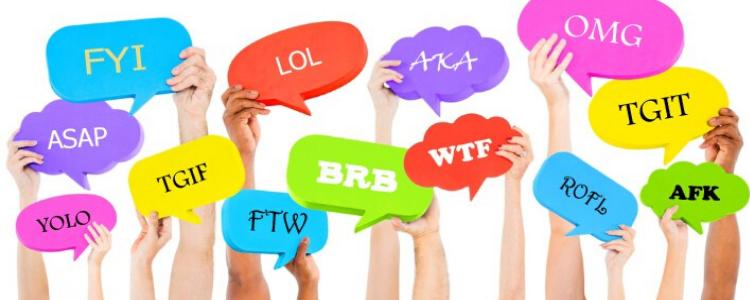 10 abbreviazioni in inglese che ti saranno utili durante il tuo Programma Scolastico all'Estero